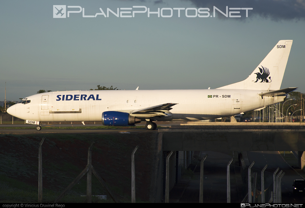 Boeing 737-400SF - PR-SDM operated by Sideral Air Cargo #b737 #b737freighter #b737sf #boeing #boeing737