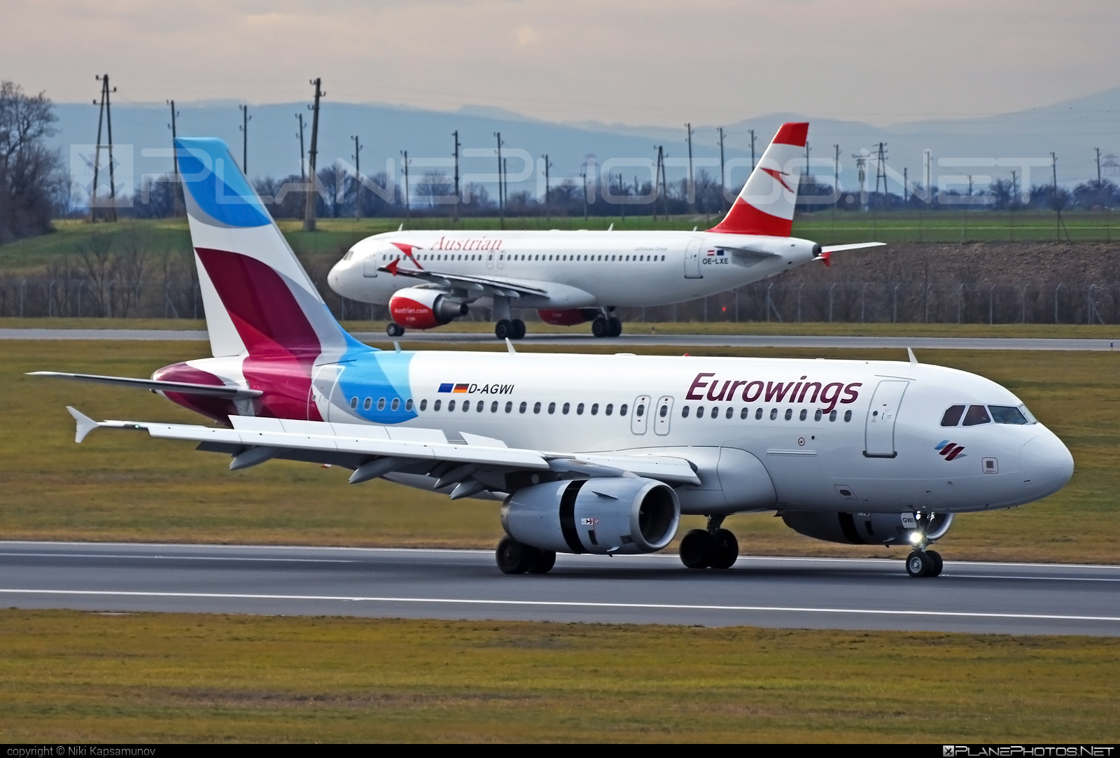 Airbus A319-132 - D-AGWI operated by Eurowings #a319 #a320family #airbus #airbus319 #eurowings