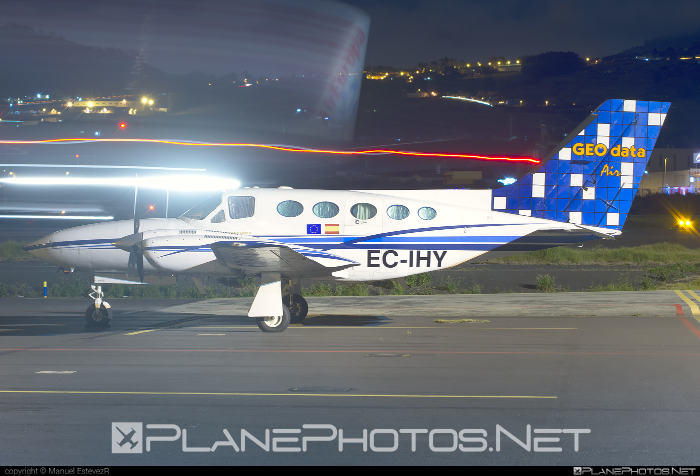 Cessna 421C Golden Eagle - EC-IHY operated by GEO Data Air #cessna