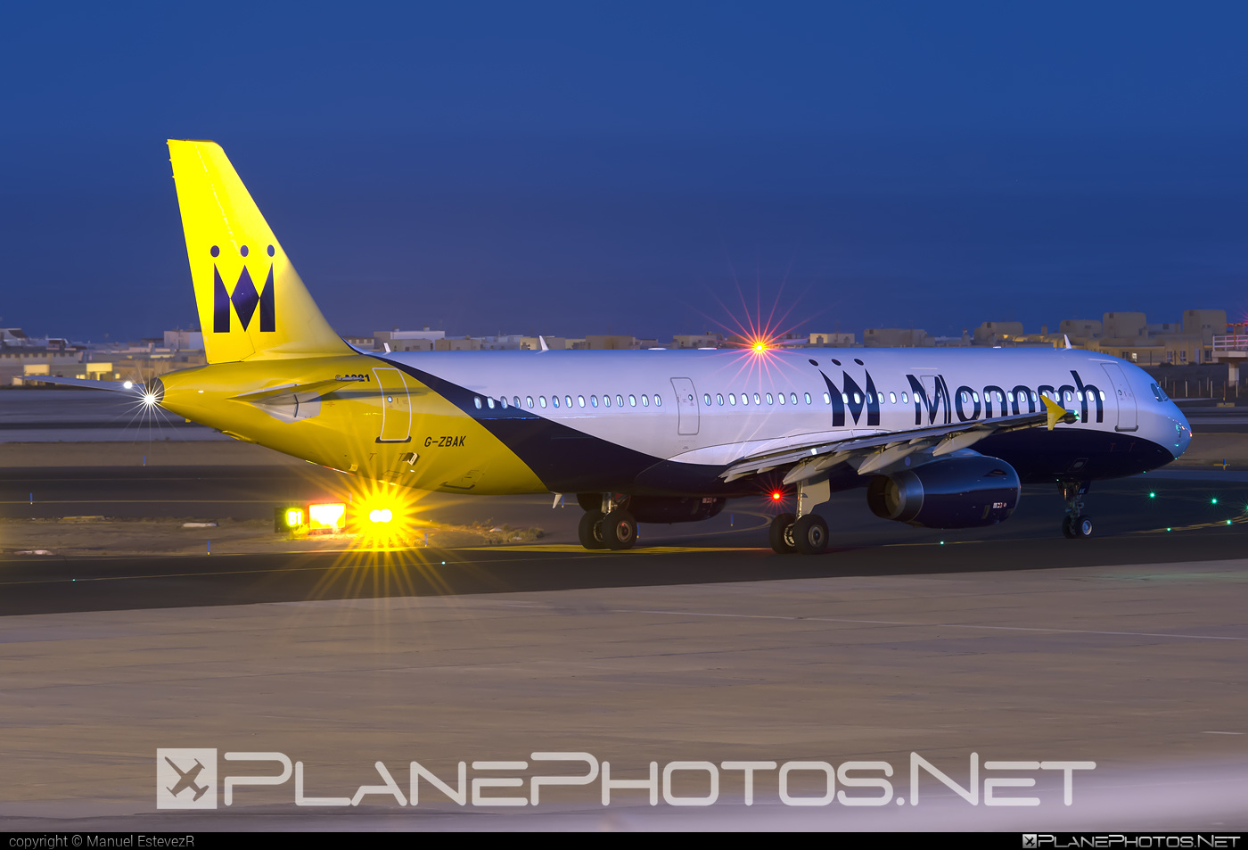 Airbus A321-231 - G-ZBAK operated by Monarch Airlines #a320family #a321 #airbus #airbus321