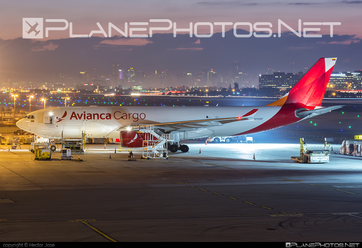 Airbus A330-243F - N332QT operated by Avianca Cargo #a330 #a330f #a330family #airbus #airbus330 #avianca #aviancacargo