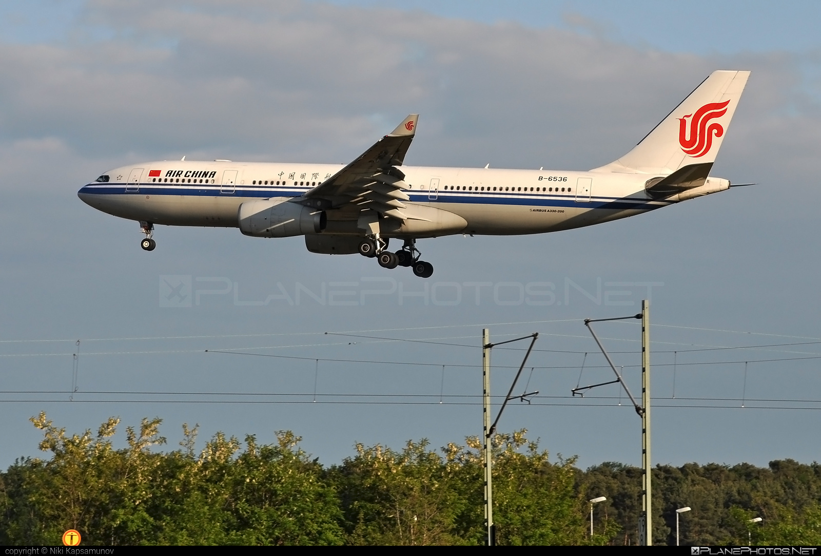 Airbus A330-243 - B-6536 operated by Air China #a330 #a330family #airbus #airbus330 #airchina