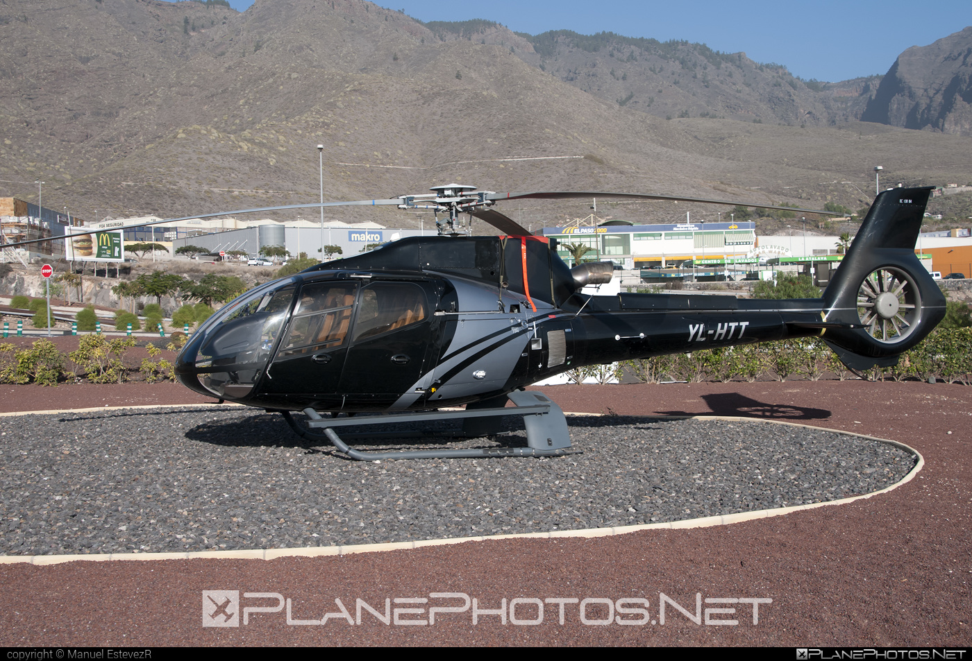 Eurocopter EC130 B4 - YL-HTT operated by Private operator #eurocopter