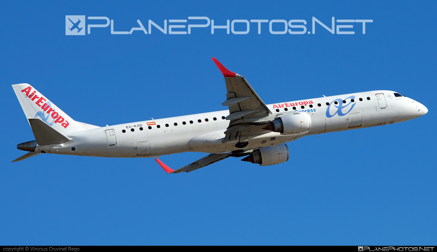 Embraer 190-200LR - EC-KXD operated by Air Europa Express #e195 #embraer #embraer195 #embraer195lr