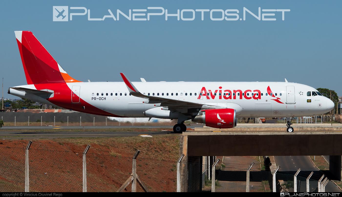 Airbus A320-214 - PR-OCH operated by Avianca Brasil #a320 #a320family #airbus #airbus320 #avianca #aviancabrasil