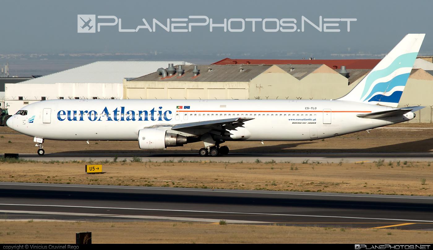 Boeing 767-300ER - CS-TLO operated by EuroAtlantic Airways #b767 #b767er #boeing #boeing767 #euroatlantic #euroatlanticairways