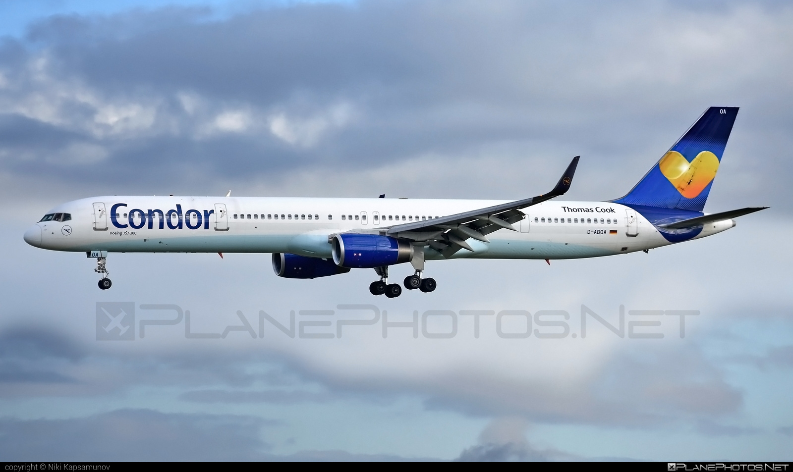 Condor Boeing 757-300 - D-ABOA #b757 #boeing #boeing757