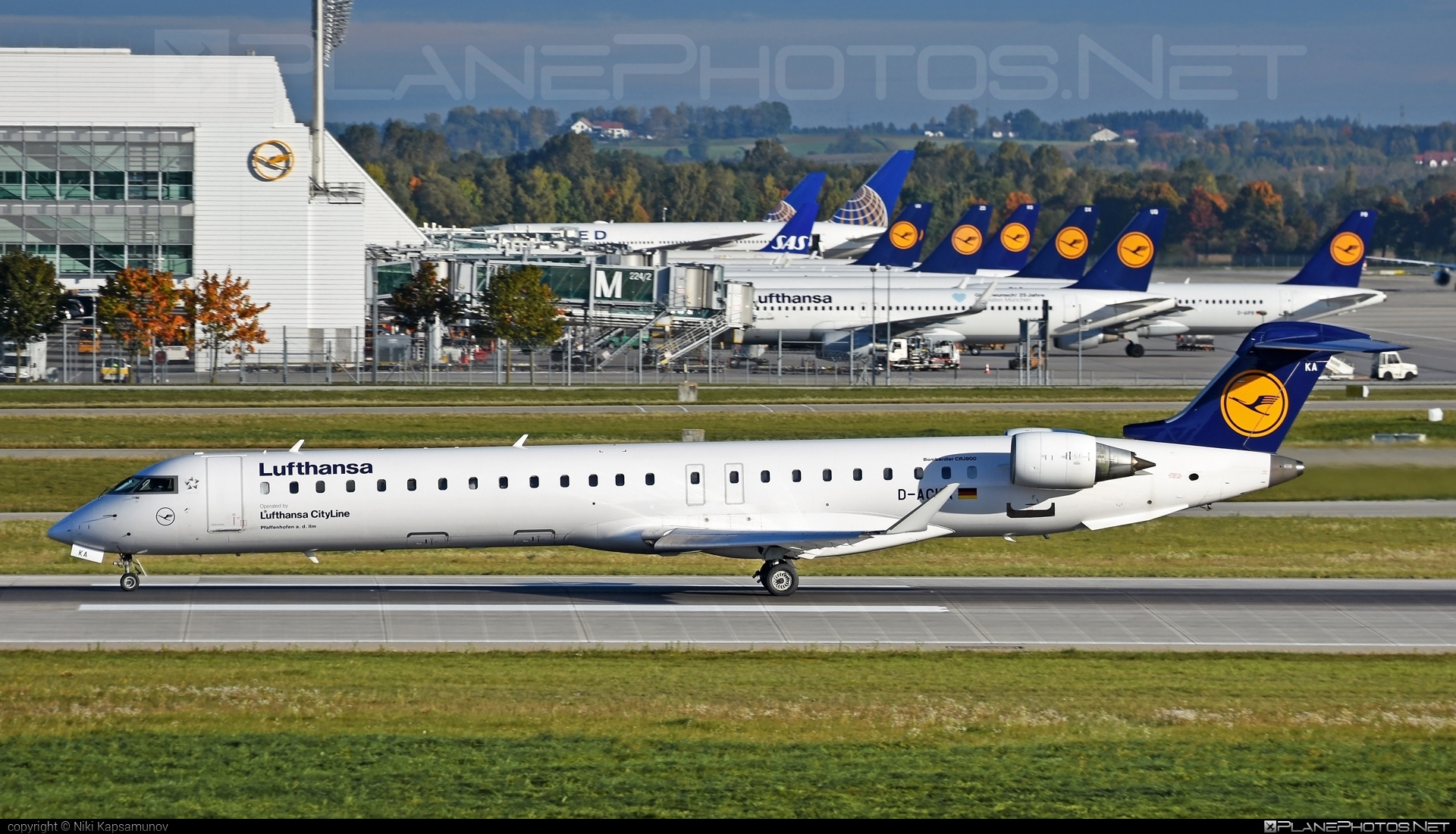 Bombardier CRJ900LR - D-ACKA operated by Lufthansa CityLine #bombardier #crj900 #crj900lr #lufthansa #lufthansacityline