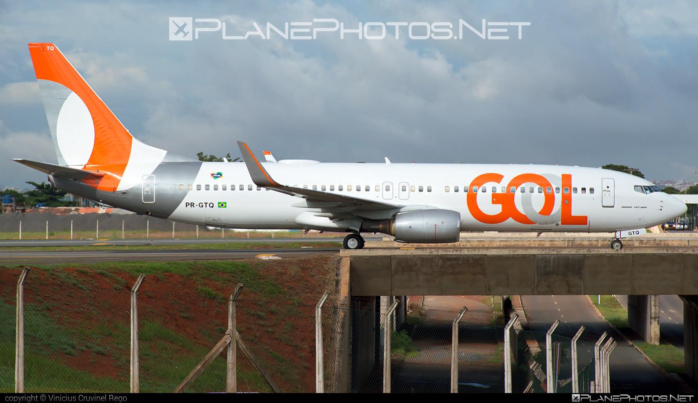 Boeing 737-800 - PR-GTQ operated by GOL Linhas Aéreas Inteligentes #b737 #b737nextgen #b737ng #boeing #boeing737