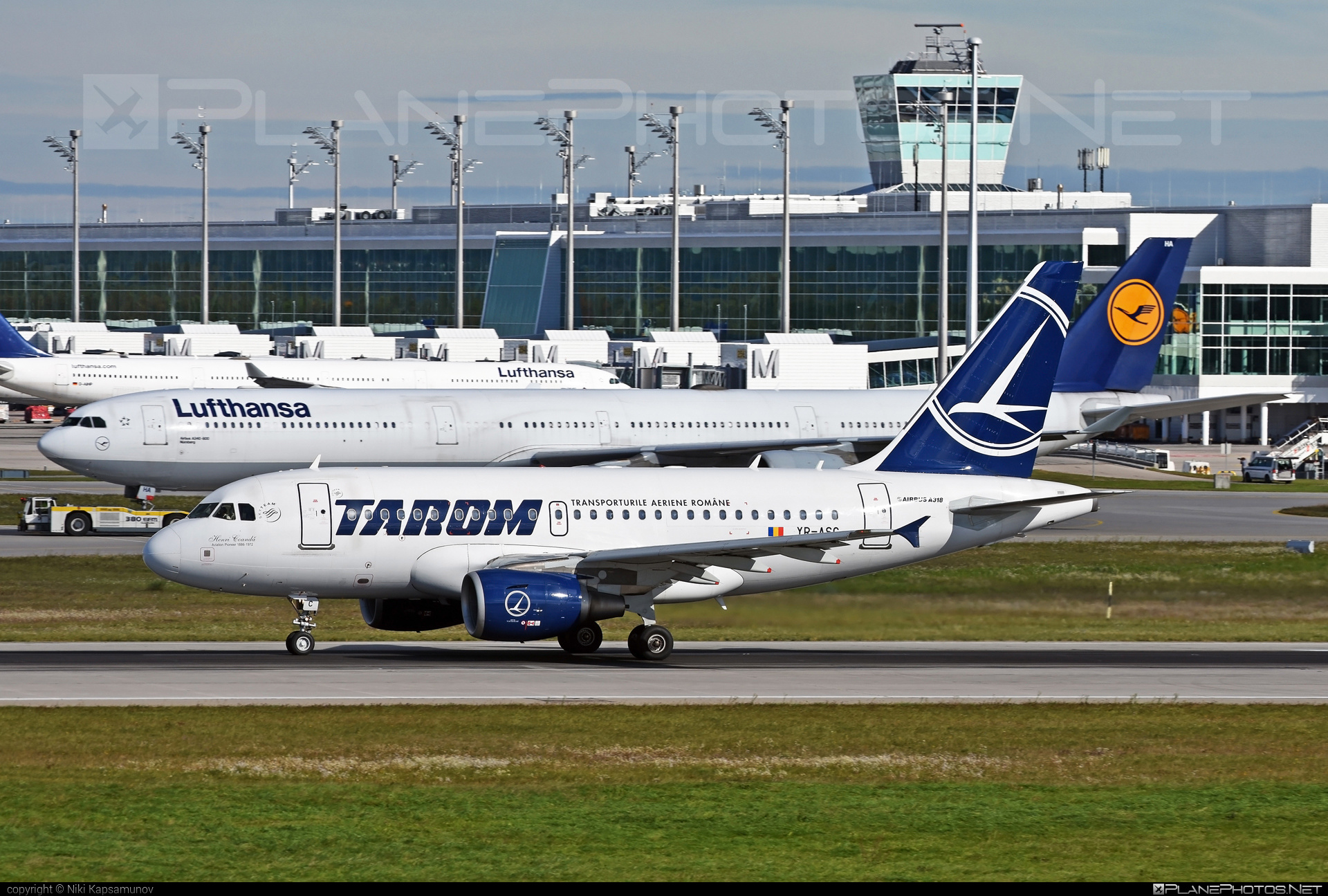 Airbus A318-111 - YR-ASC operated by Tarom #a318 #a320family #airbus #airbus318