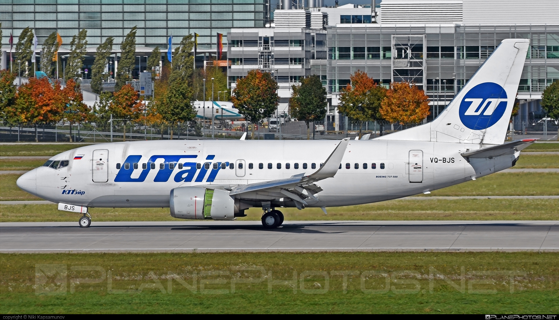 Boeing 737-500 - VQ-BJS operated by UTair Aviation #b737 #boeing #boeing737 #utair #utairaviation