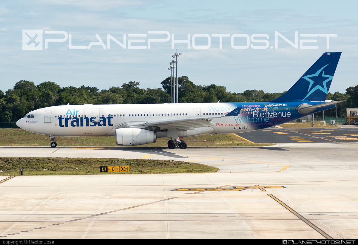 Airbus A330-243 - C-GTSJ operated by Air Transat #a330 #a330family #airbus #airbus330