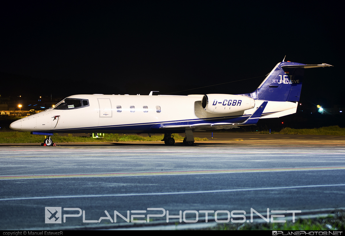Bombardier 55 - D-CGBR operated by JET EXECUTIVE International Charter #bombardier #learjet #learjet55