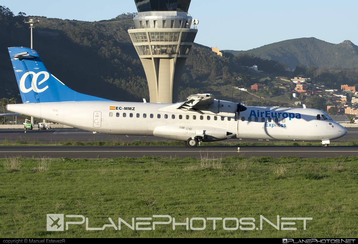 ATR 72-212A - EC-MMZ operated by Air Europa Express #atr