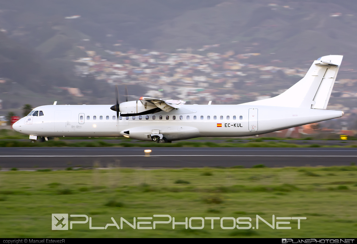 ATR 72-212A - EC-KUL operated by Swiftair #atr