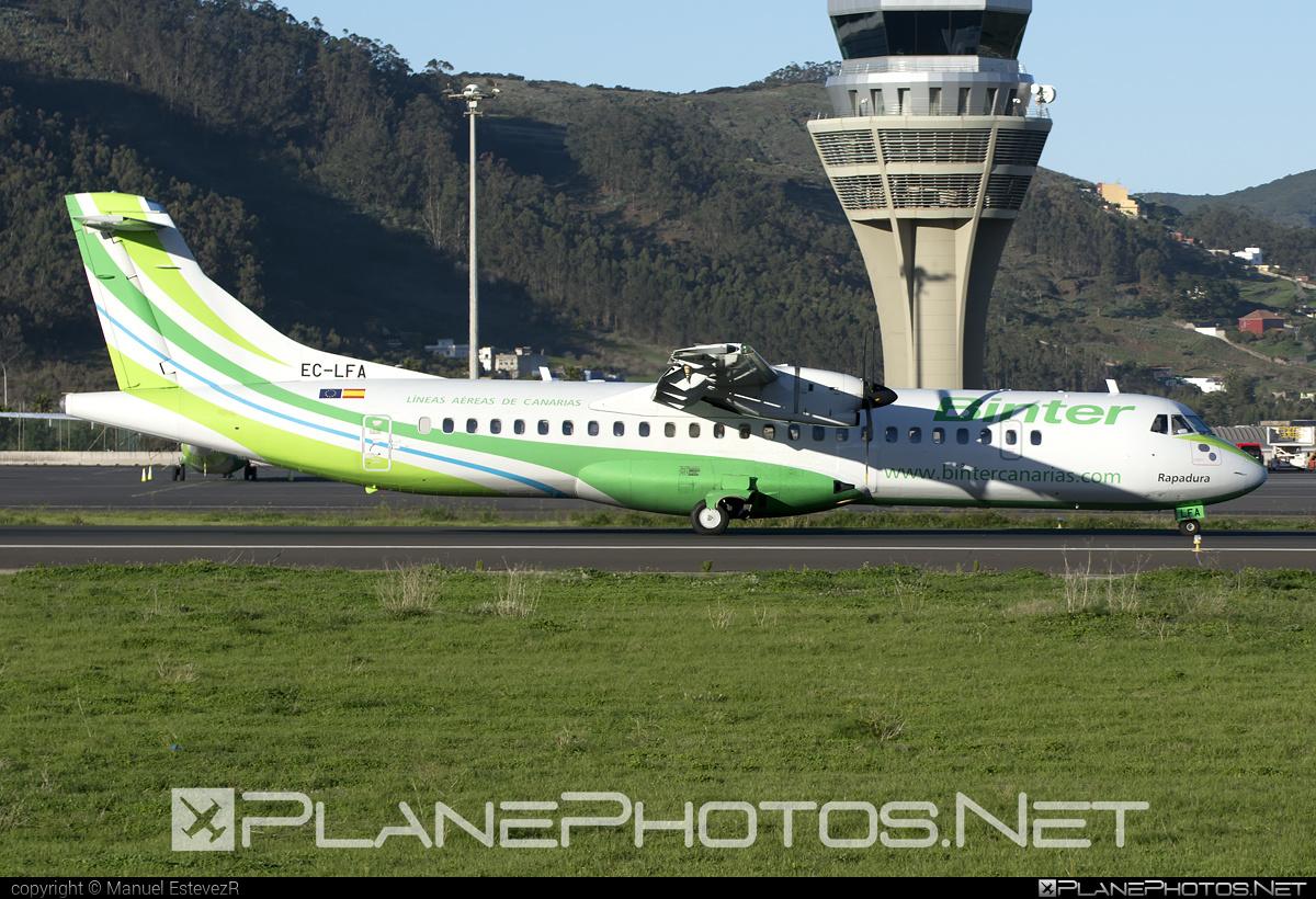 ATR 72-212A - EC-LFA operated by Binter Canarias #atr