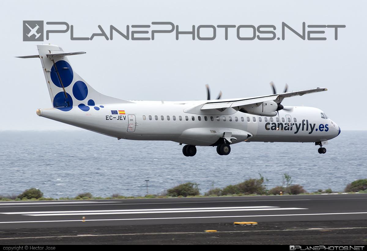 ATR 72-212A - EC-JEV operated by Canaryfly #atr
