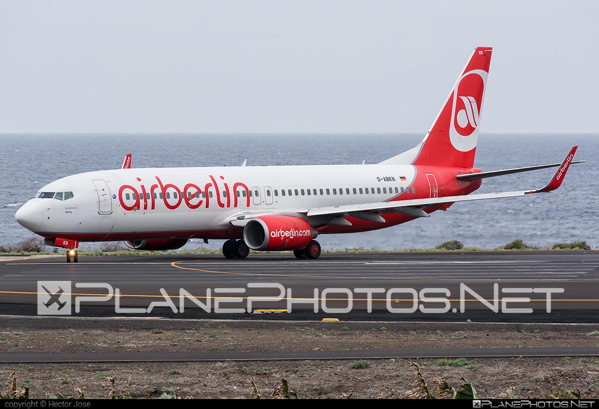Boeing 737-800 - D-ABKN operated by TUIfly #b737 #b737nextgen #b737ng #boeing #boeing737 #tui #tuifly
