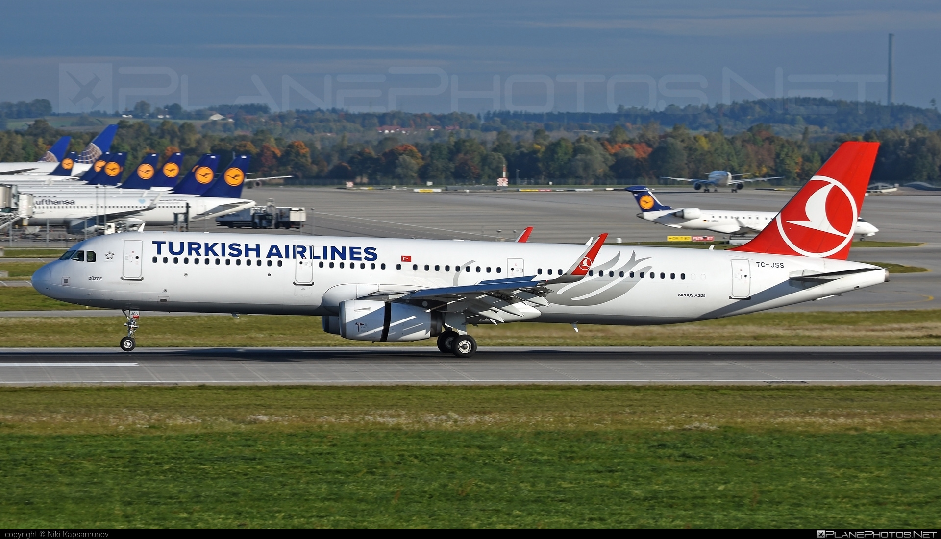Airbus A321-231 - TC-JSS operated by Turkish Airlines #a320family #a321 #airbus #airbus321 #turkishairlines