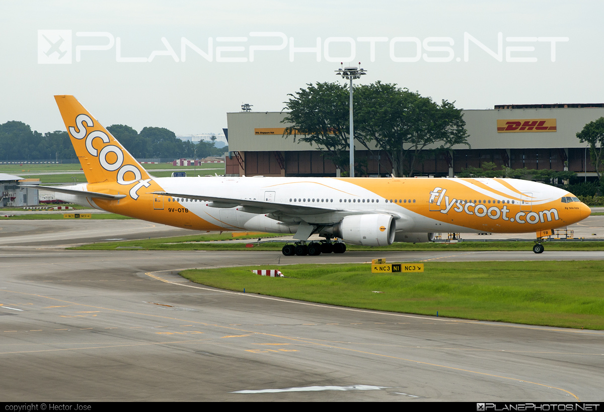 Boeing 777-200ER - 9V-OTB operated by Scoot #b777 #b777er #boeing #boeing777 #tripleseven