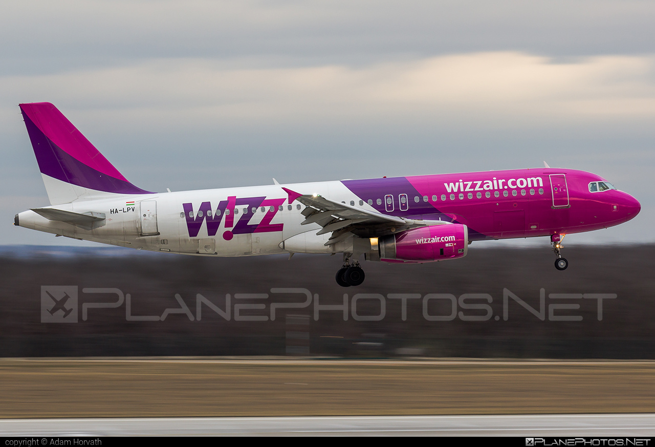 Airbus A320-232 - HA-LPV operated by Wizz Air #a320 #a320family #airbus #airbus320 #wizz #wizzair