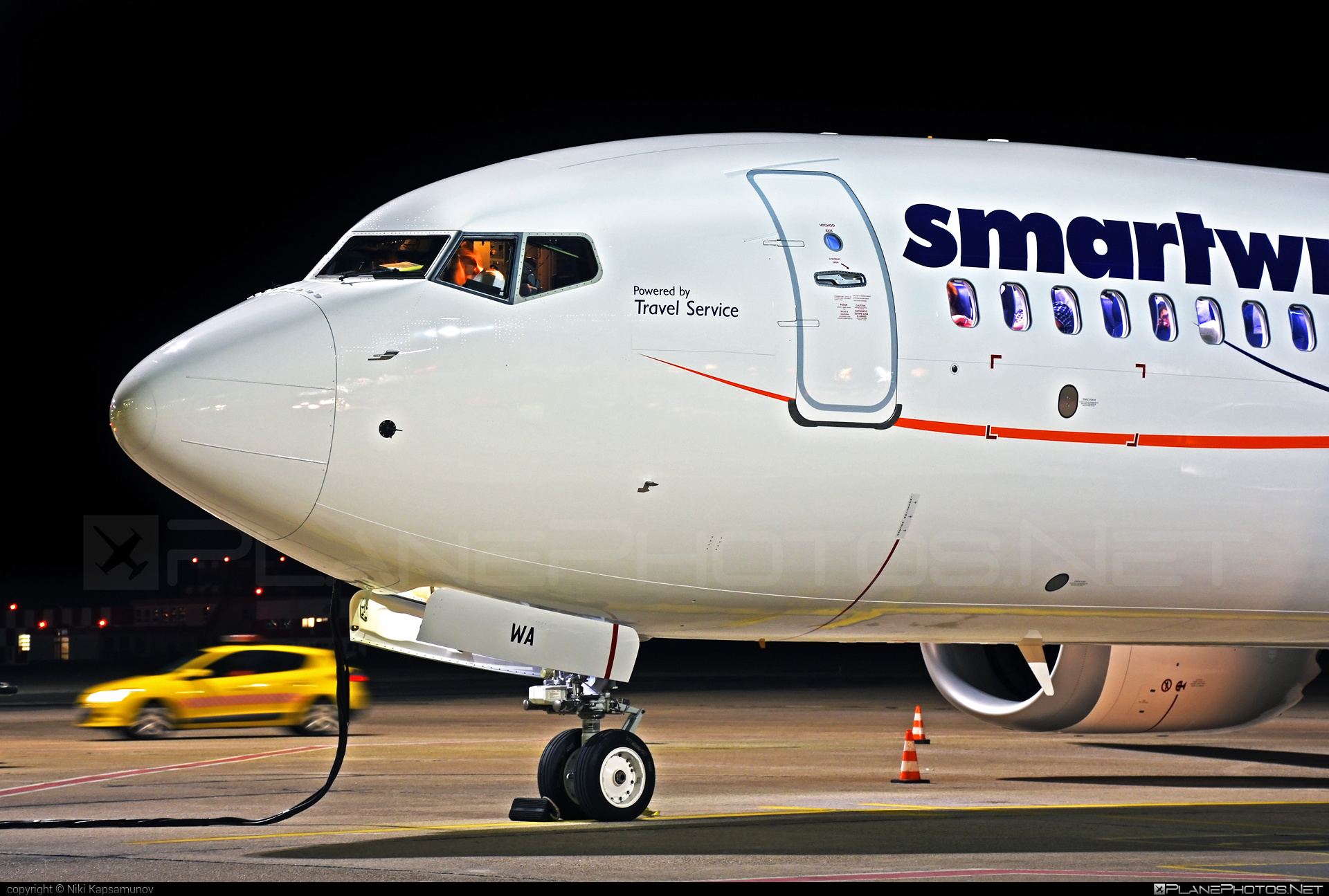 Boeing 737-8 MAX - OK-SWA operated by Smart Wings #b737 #b737max #boeing #boeing737 #smartwings