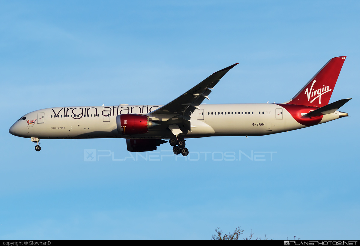 Boeing 787-9 Dreamliner - G-VFAN operated by Virgin Atlantic Airways #b787 #boeing #boeing787 #dreamliner #virginatlantic #virginatlanticairways