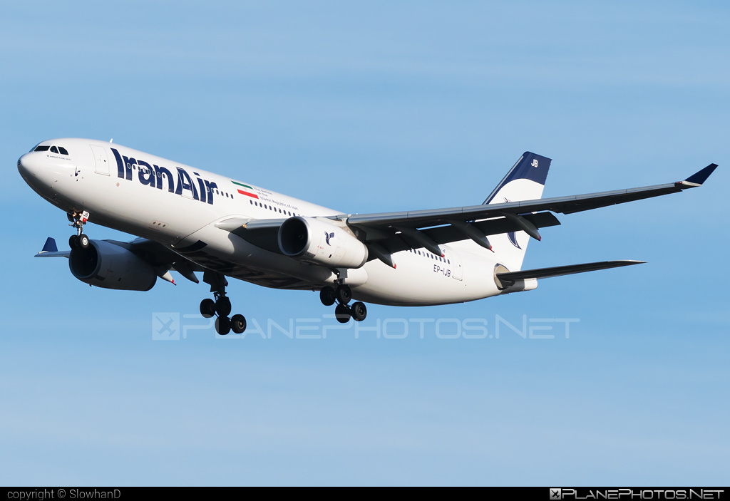 Airbus A330-243 - EP-IJB operated by Iran Air #a330 #a330family #airbus #airbus330
