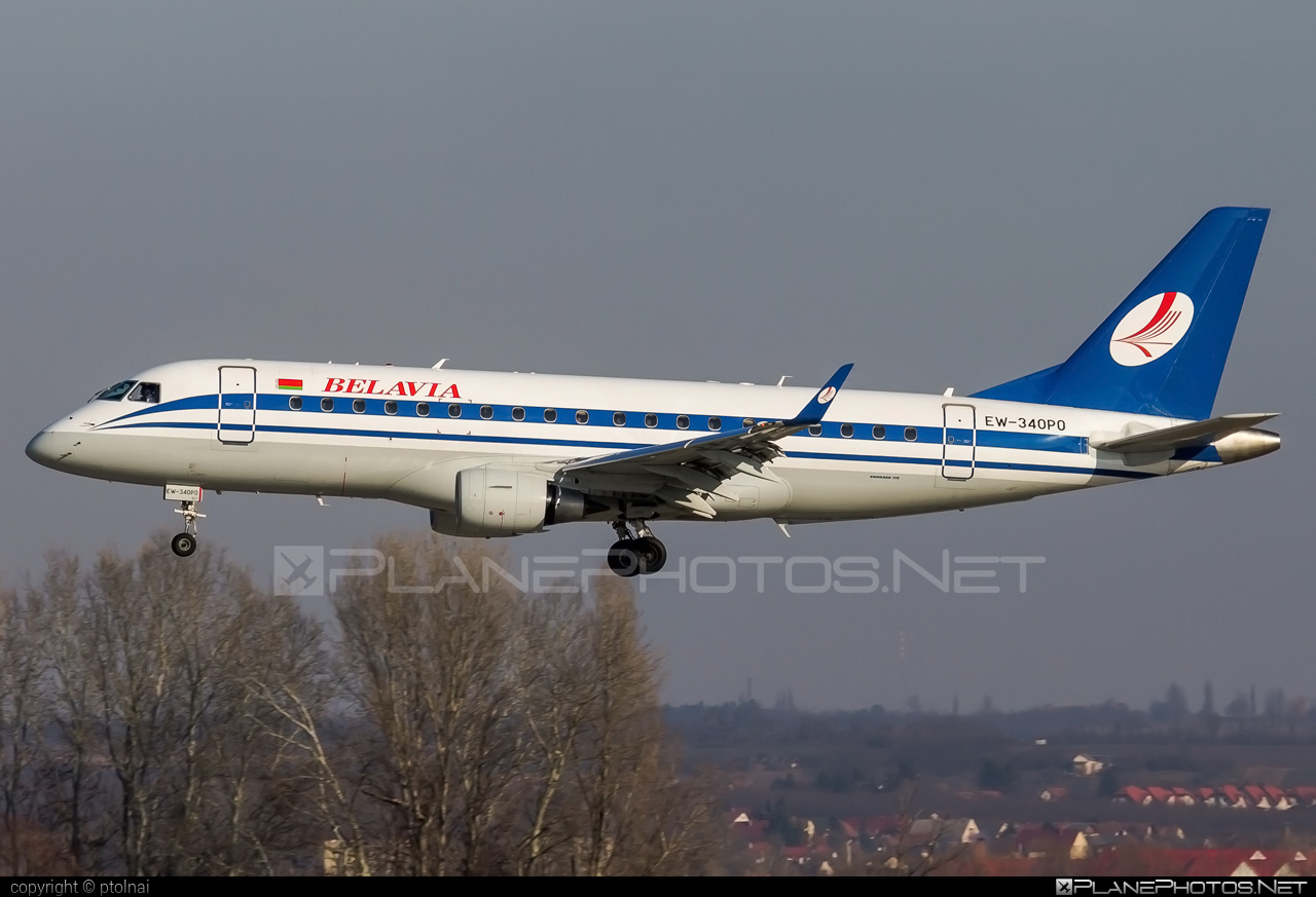 Embraer 170-200LR - EW-340PO operated by Belavia Belarusian Airlines #belavia #embraer