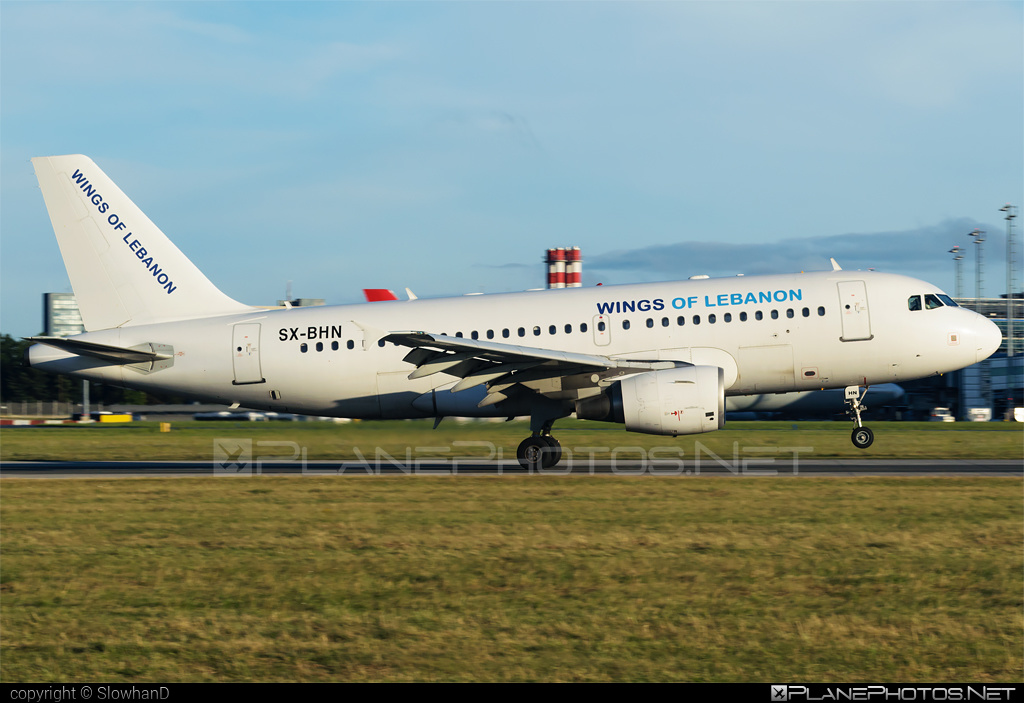Airbus A319-112 - SX-BHN operated by Wings of Lebanon #a319 #a320family #airbus #airbus319