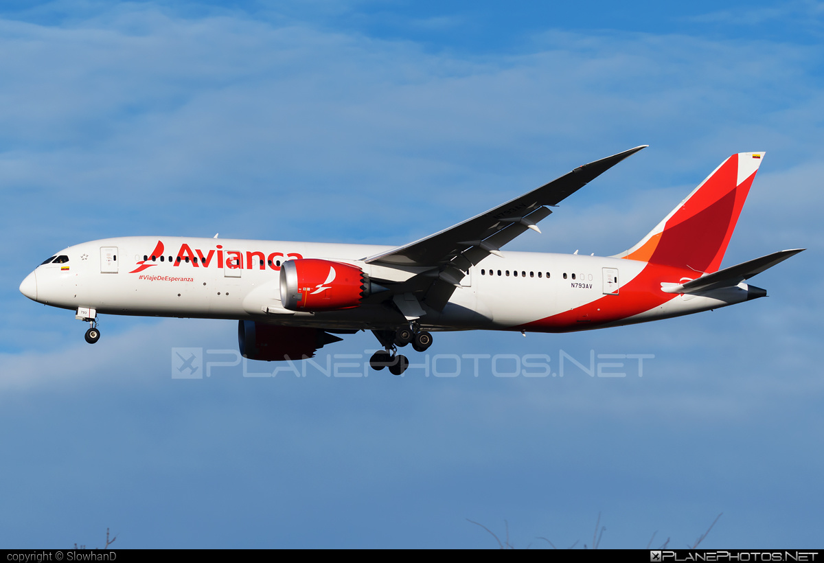 Boeing 787-8 Dreamliner - N793AV operated by Avianca #avianca #b787 #boeing #boeing787 #dreamliner