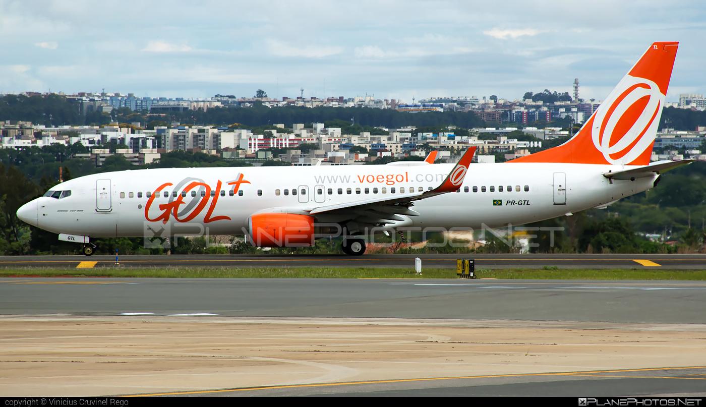Boeing 737-800 - PR-GTL operated by GOL Linhas Aéreas Inteligentes #b737 #b737nextgen #b737ng #boeing #boeing737