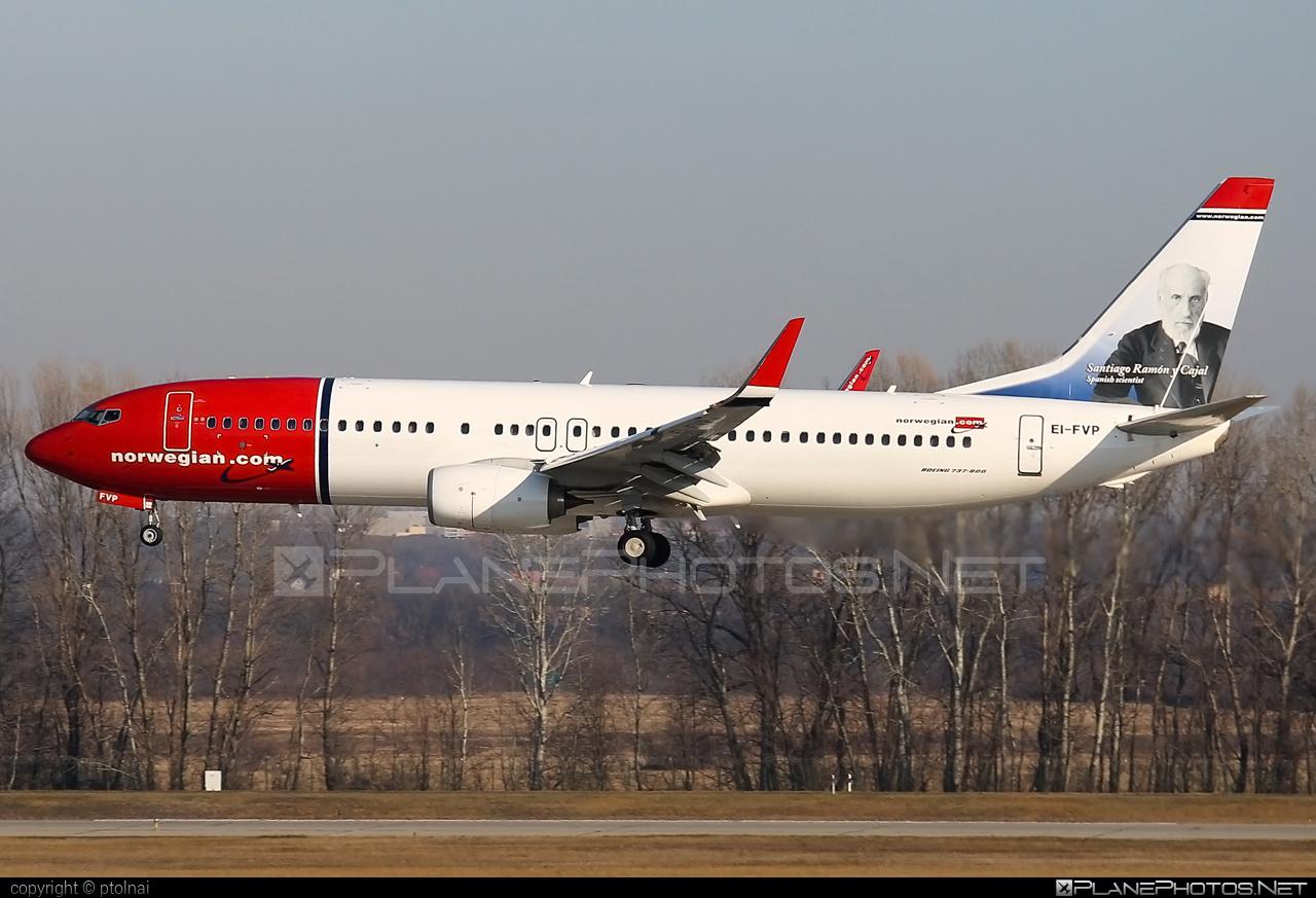 Boeing 737-800 - EI-FVP operated by Norwegian Air International #b737 #b737nextgen #b737ng #boeing #boeing737 #norwegian #norwegianair #norwegianairinternational