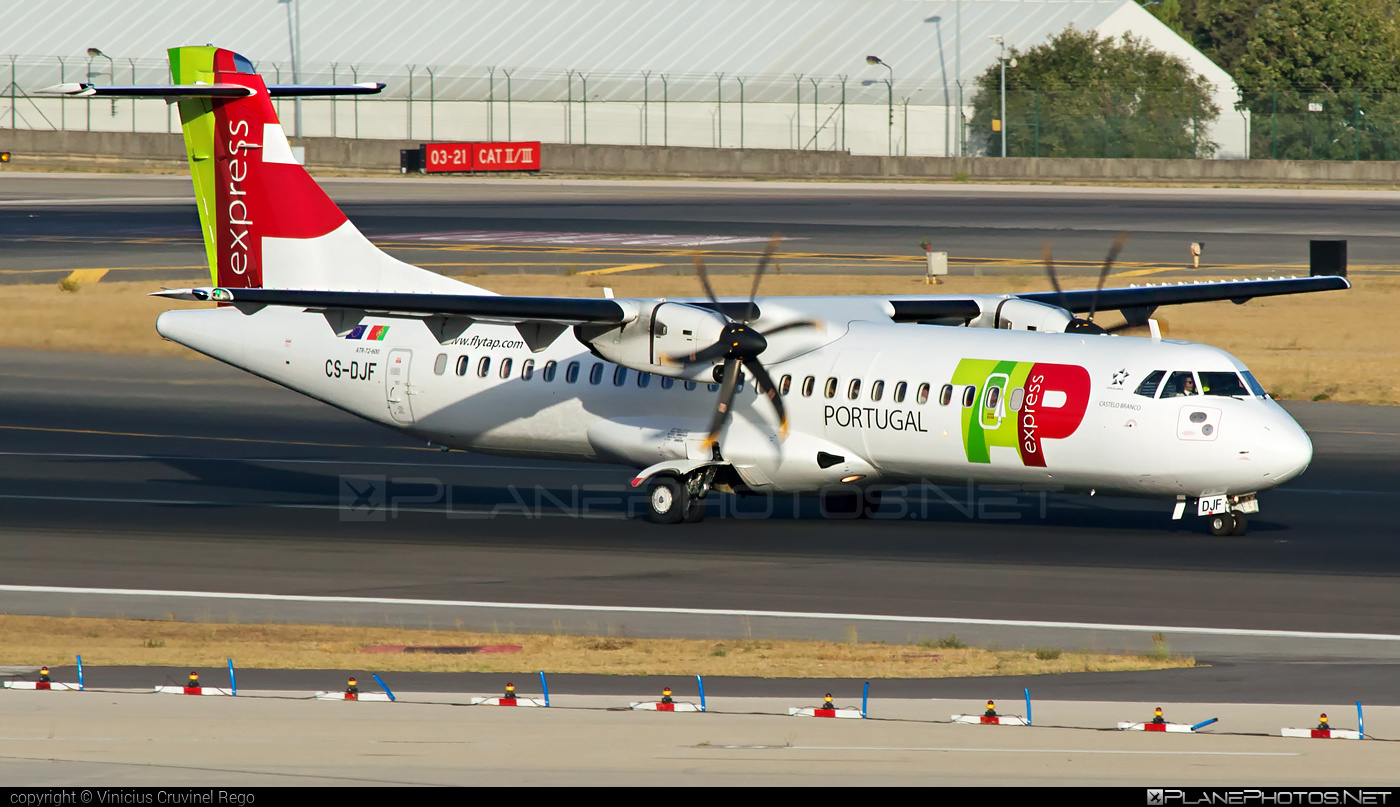 ATR 72-212A - CS-DJF operated by TAP Express #atr