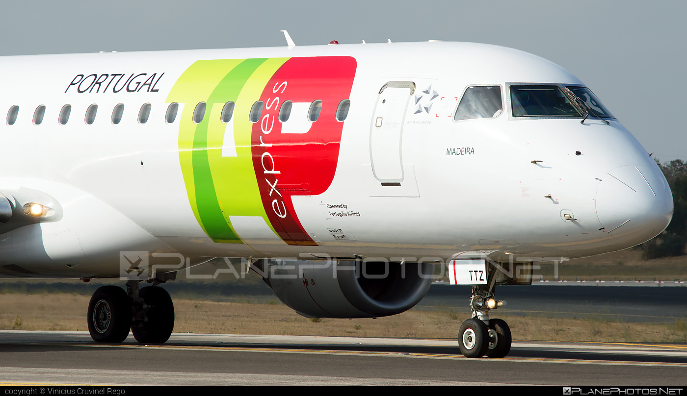 Embraer 190-200IGW - CS-TTZ operated by TAP Express #e195 #embraer #embraer195 #embraer195igw