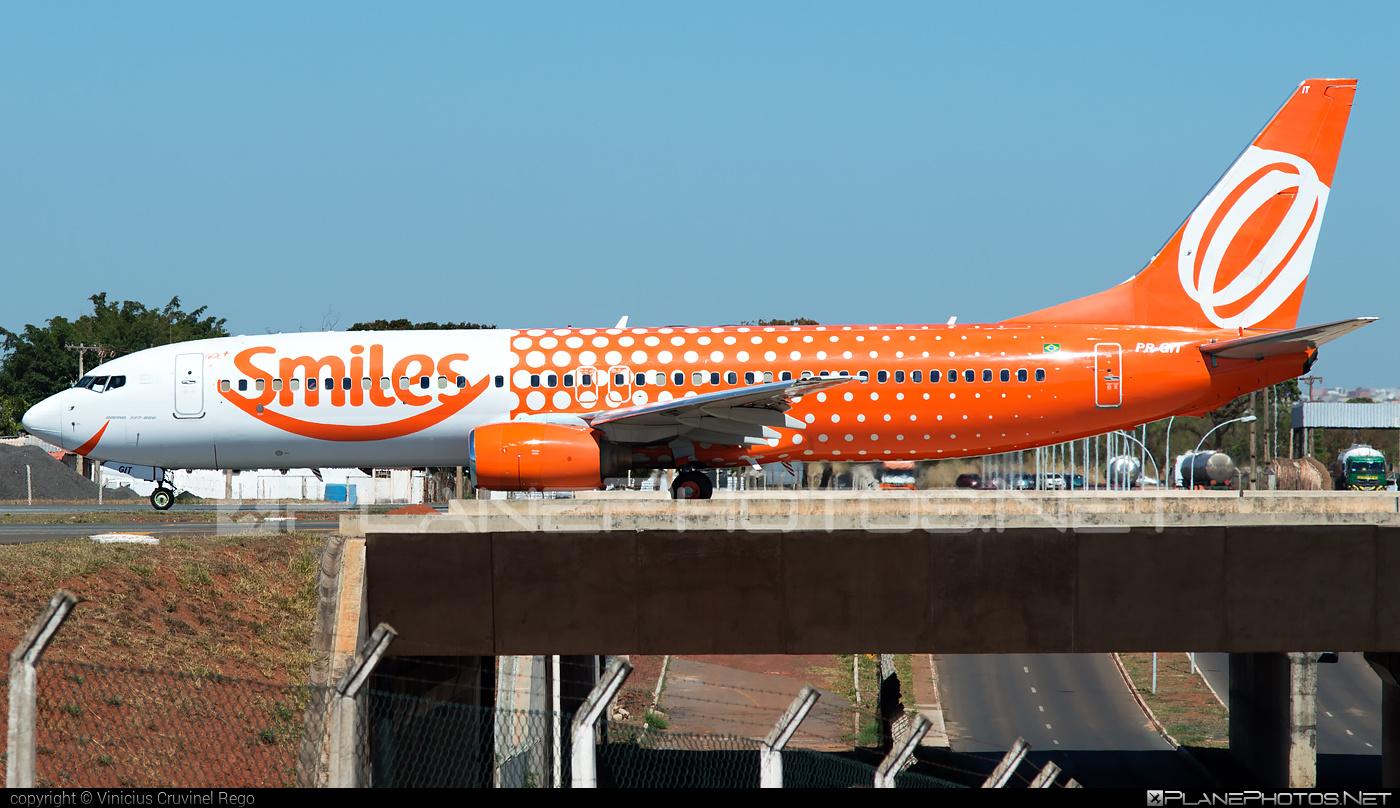 Boeing 737-800 - PR-GIT operated by GOL Linhas Aéreas Inteligentes #b737 #b737nextgen #b737ng #boeing #boeing737