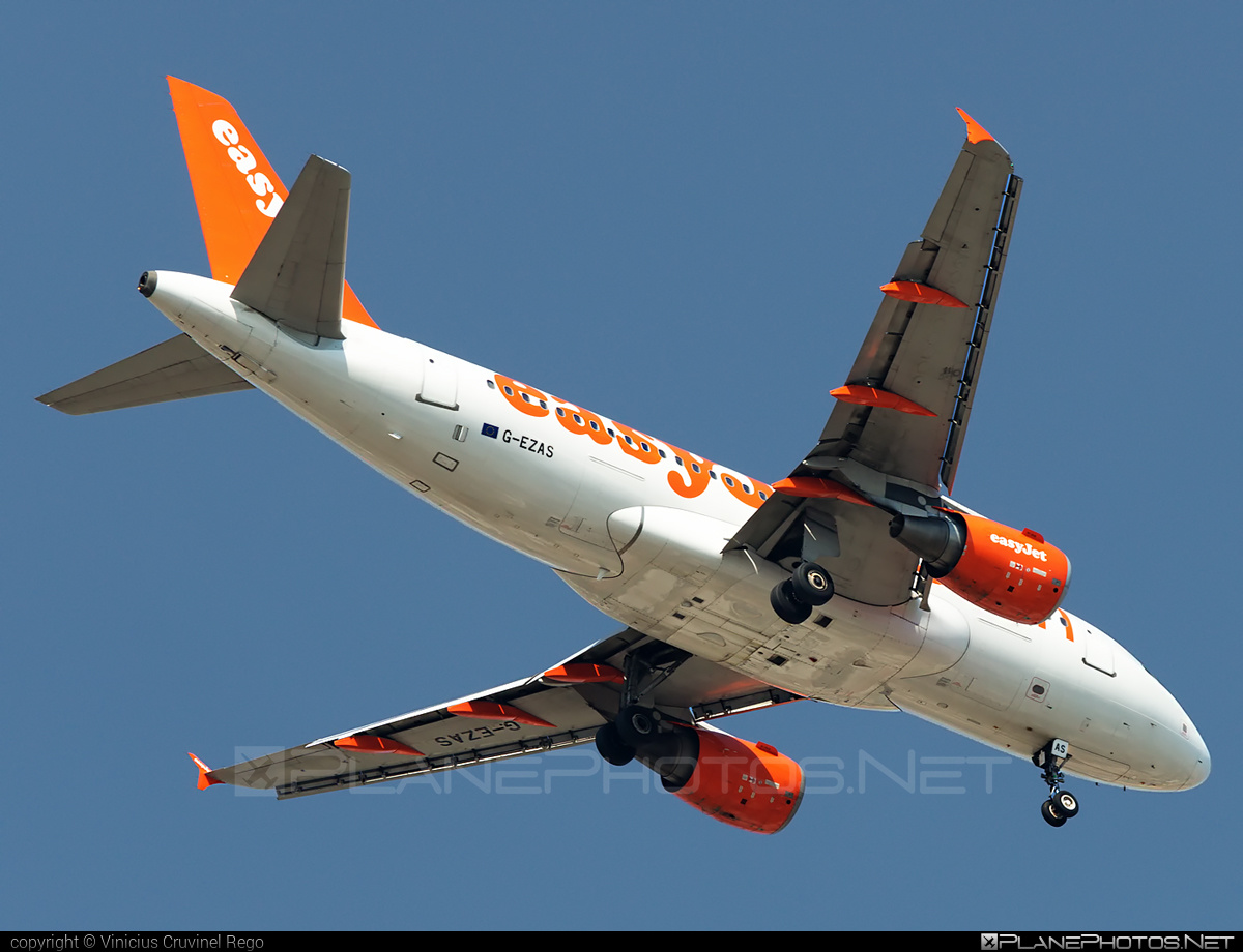 Airbus A319-111 - G-EZAS operated by easyJet #a319 #a320family #airbus #airbus319 #easyjet