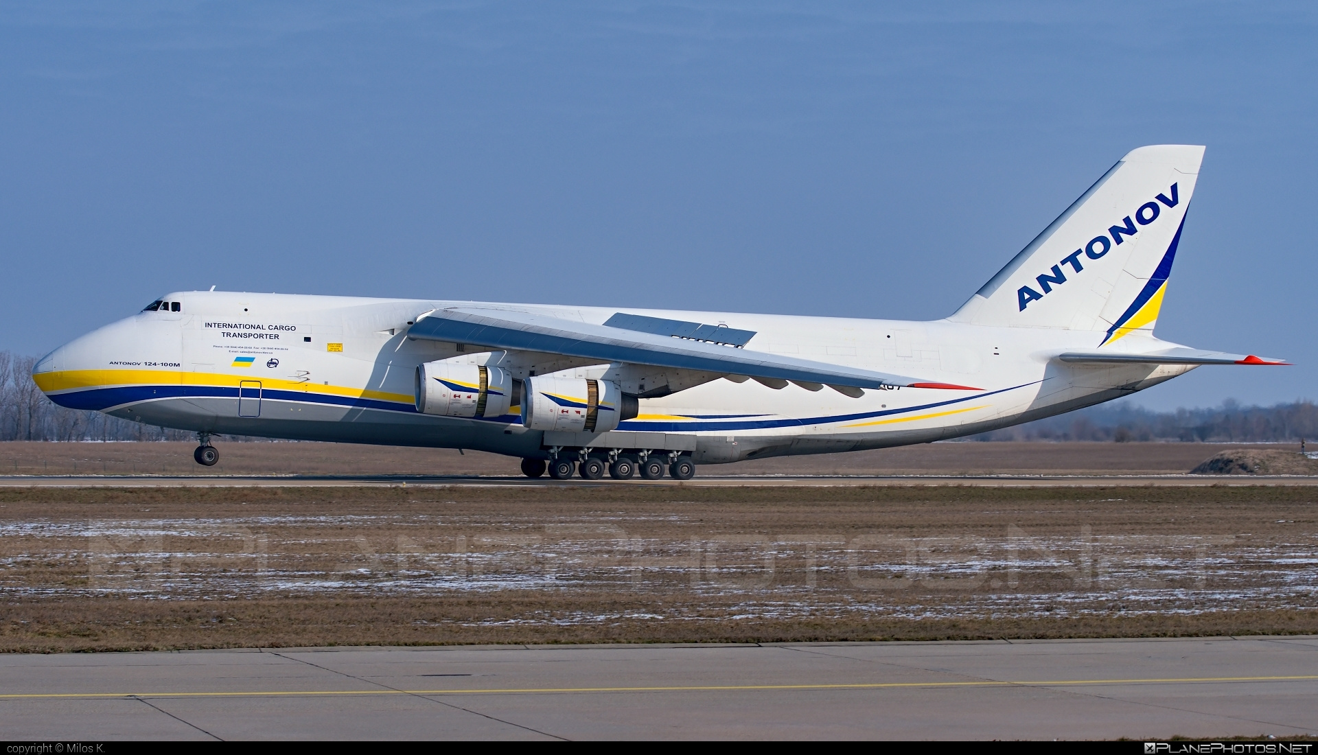 Antonov An-124-100M Ruslan - UR-82007 operated by Antonov Airlines #an124 #an124100m #an124100mruslan #an124ruslan #antonov #antonov124 #antonovan124