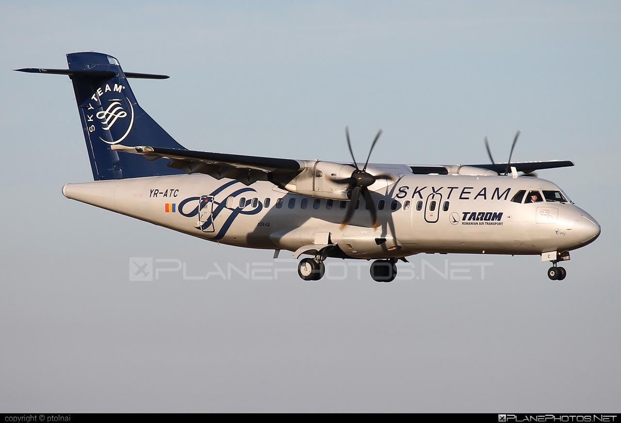 ATR 42-500 - YR-ATC operated by Tarom #atr #atr42 #atr42500 #skyteam