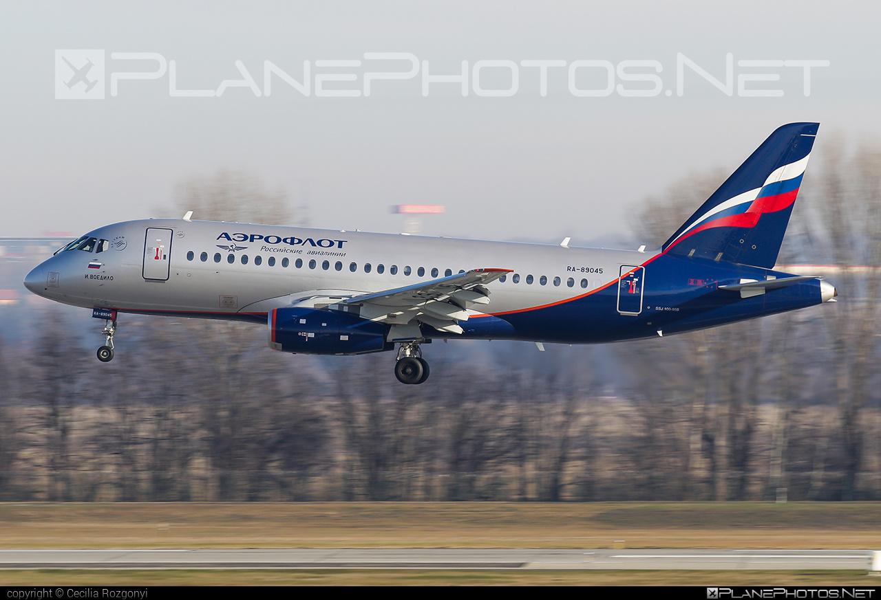 Sukhoi SSJ 100-95B Superjet - RA-89045 operated by Aeroflot #aeroflot #ssj100 #ssj10095b #sukhoi #sukhoisuperjet #superjet