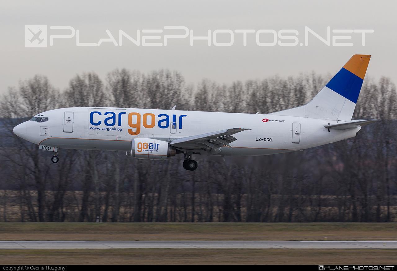 Cargo Air Boeing 737-300SF - LZ-CGO #b737 #b737freighter #b737sf #boeing #boeing737