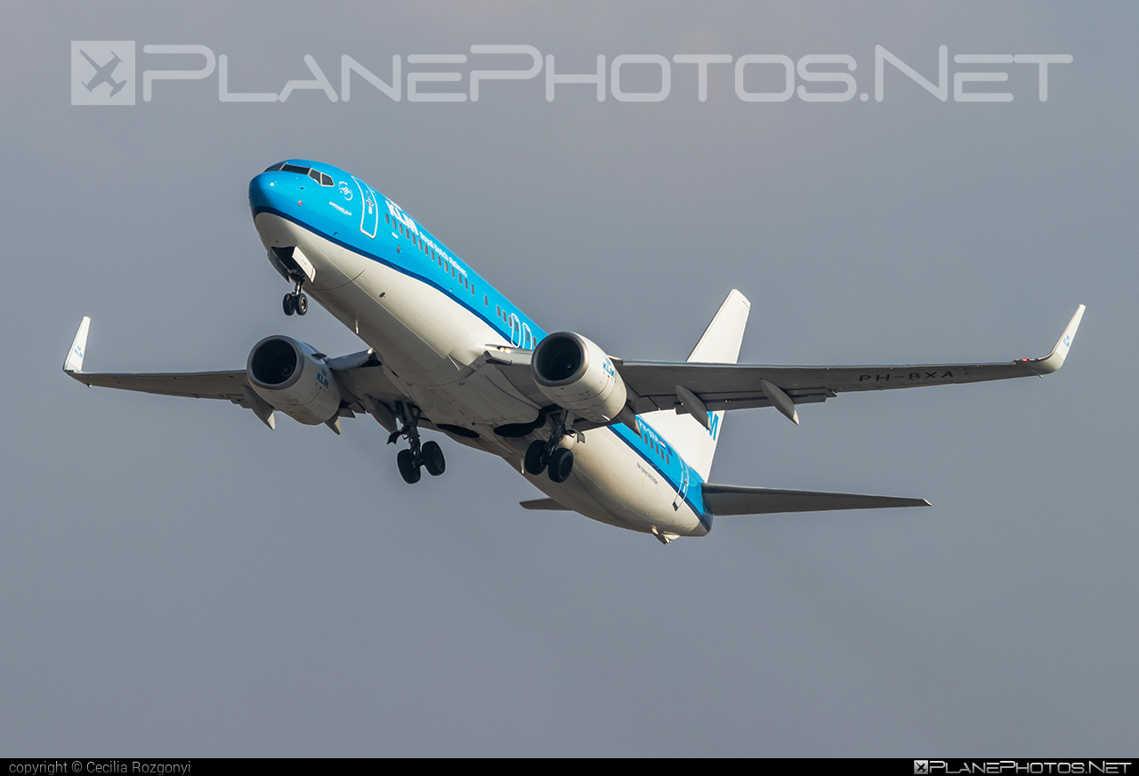 KLM Royal Dutch Airlines Boeing 737-800 - PH-BXA #b737 #b737nextgen #b737ng #boeing #klm #royaldutchairlines