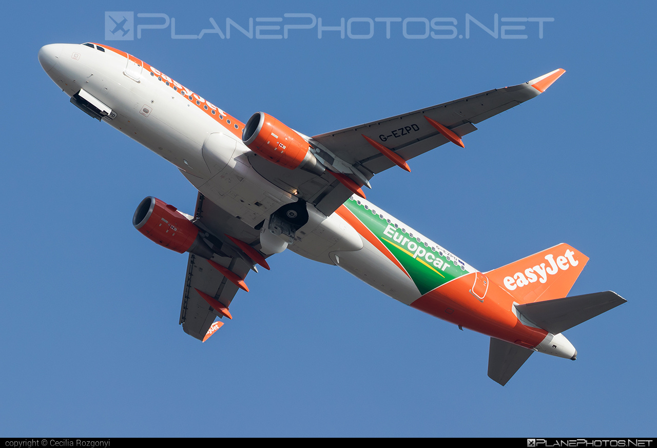 easyJet Airbus A320-214 - G-EZPD #a320 #a320family #airbus #easyjet
