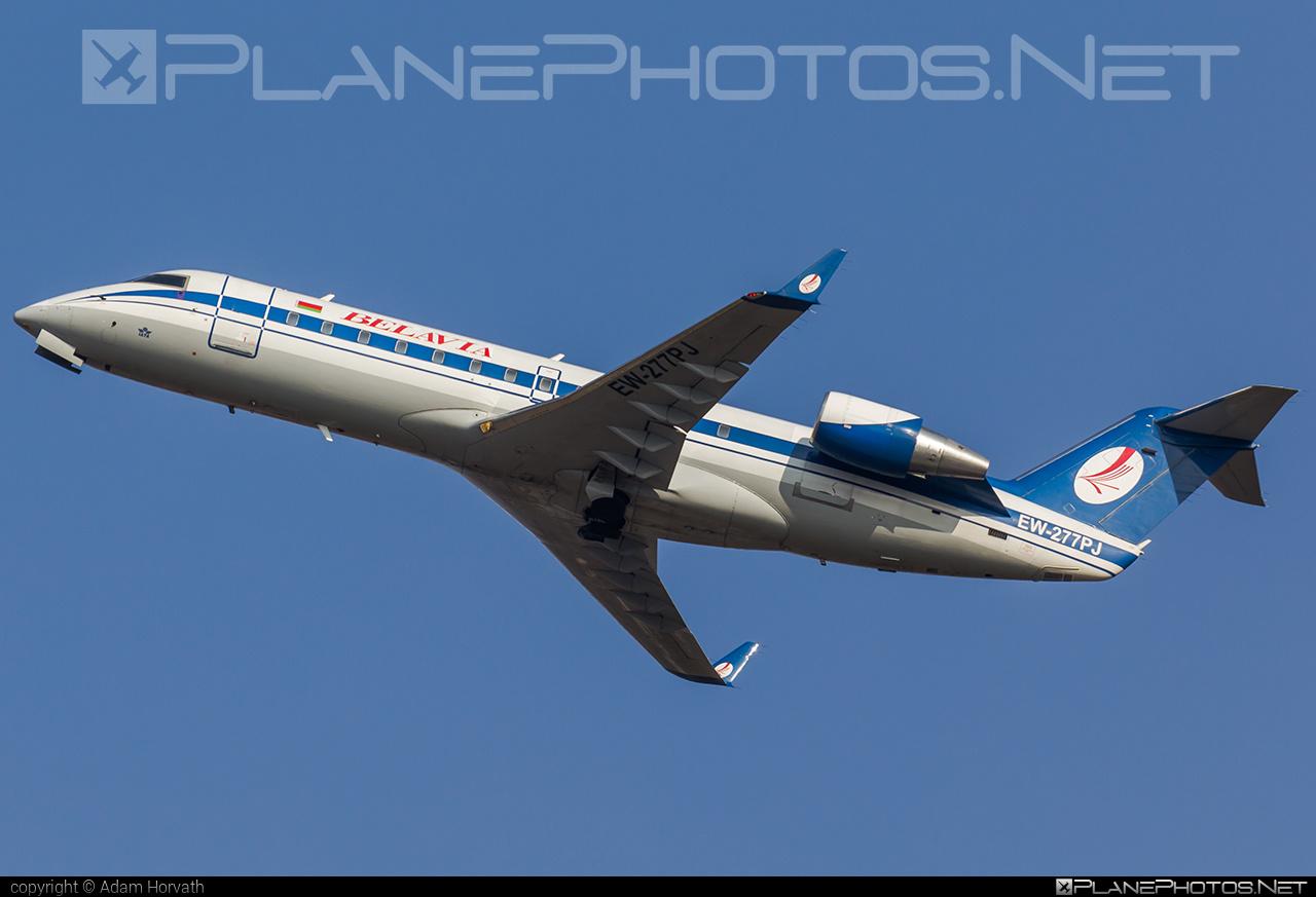 Belavia Belarusian Airlines Bombardier CRJ200ER - EW-277PJ #belavia #bombardier #crj200 #crj200er
