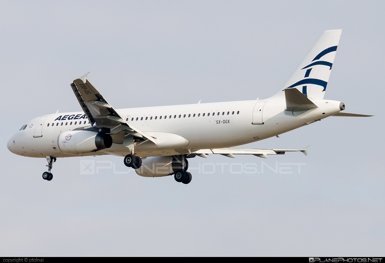 Airbus A320-232 - SX-DGX operated by Aegean Airlines #a320 #a320family #airbus #airbus320