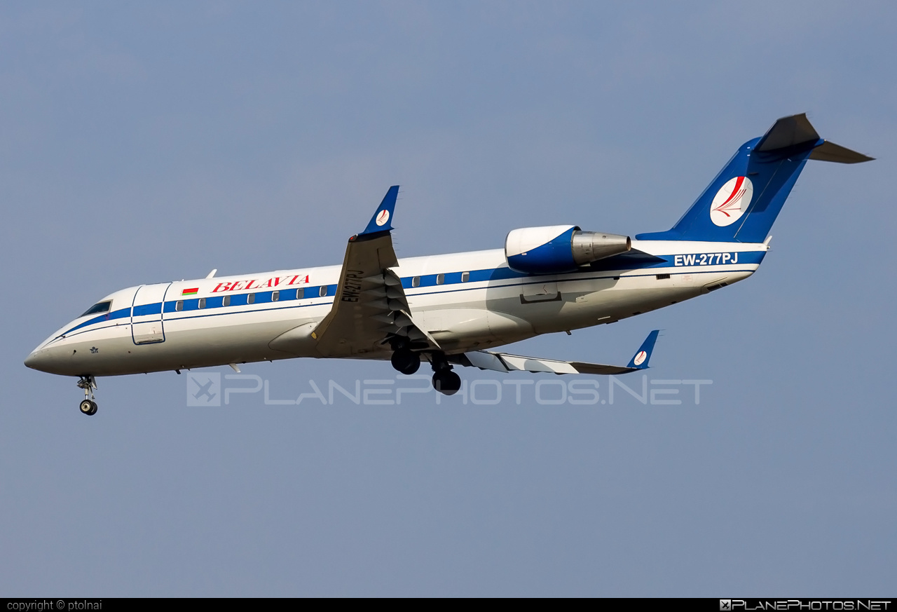 Bombardier CRJ200ER - EW-277PJ operated by Belavia Belarusian Airlines #belavia #bombardier #crj200 #crj200er