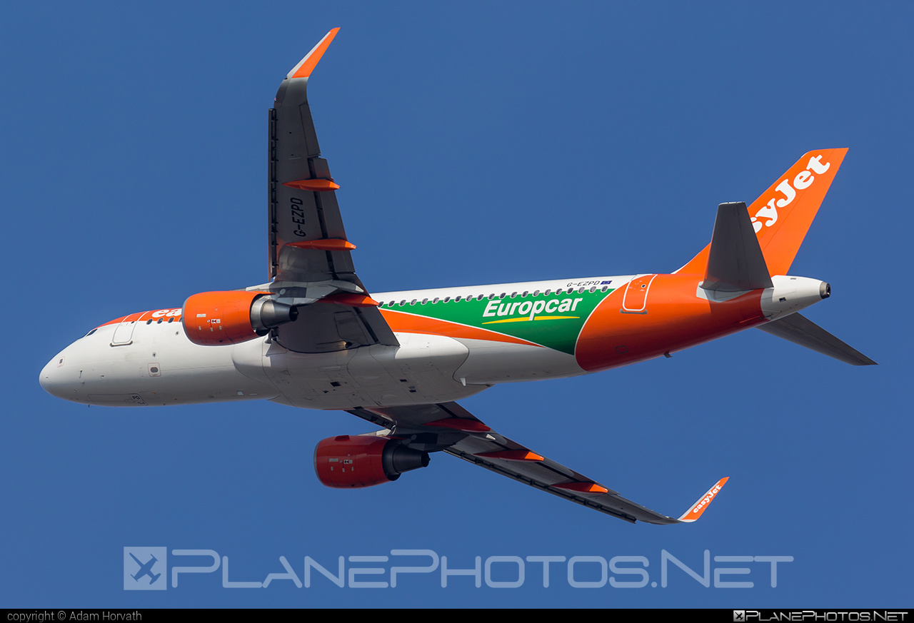Airbus A320-214 - G-EZPD operated by easyJet #a320 #a320family #airbus #airbus320 #easyjet