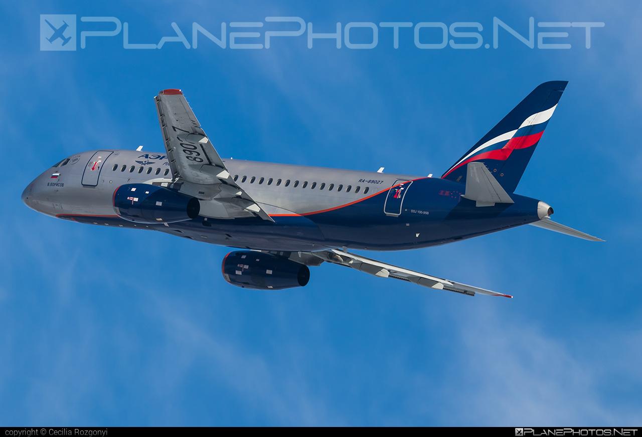Sukhoi SSJ 100-95B Superjet - RA-89027 operated by Aeroflot #aeroflot #ssj100 #ssj10095b #sukhoi #sukhoisuperjet #superjet
