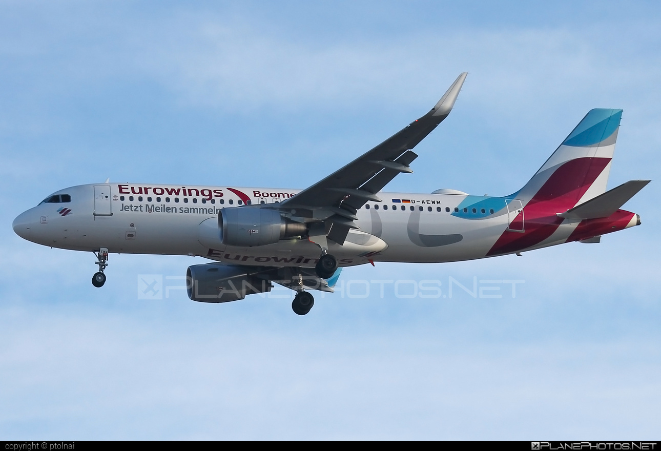 Airbus A320-214 - D-AEWM operated by Eurowings #a320 #a320family #airbus #airbus320 #eurowings