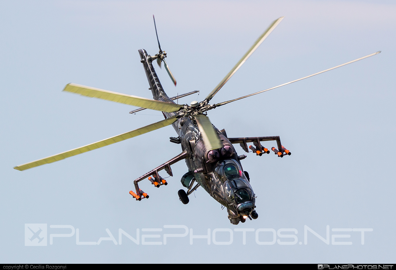 Mil Mi-35 - 3366 operated by Vzdušné síly AČR (Czech Air Force) #czechairforce #mi35 #mil #milhelicopters #vzdusnesilyacr